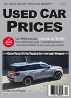 VMR Used Car Prices,Winter 2019